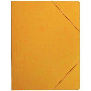 Coutal Chemise carte lustree elastique 5/10 24x32 jaune