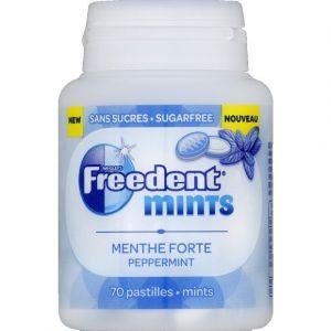 Freedent Pastilles sans sucres menthe forte - mints