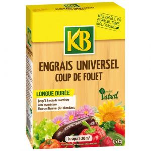 Image de KB Engrais universel coup de fouet en granules 1.5Kg