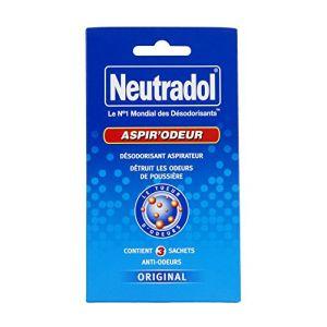 Neutradol Aspir'odeur 3 sachets pour aspirateur - RéMY
