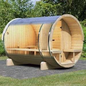 Karibu Sauna Baril 2