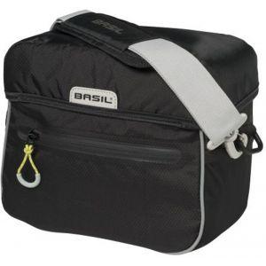 Basil Miles - Sac porte-bagages - 6l jaune/noir Sacoches pour guidon