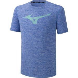Mizuno Core RB Graphic T-Shirt Homme, dazzling blue L T-shirts course à pied