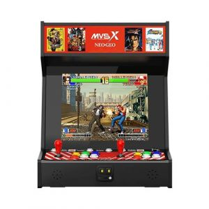 Just for Games Snk Neogeo Mvsx Bartop Arcade (50 Jeux Snk Pré-Installés)