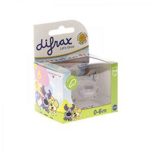 Difrax Sucette combi Woezel & Pip (0-6 mois)