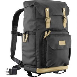 Mantona Photo Backpack Luis black Retro