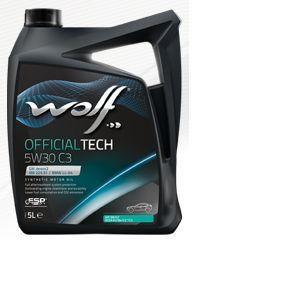 Wolf Bidon 5 litres d'huile moteur 5W30 C3-10