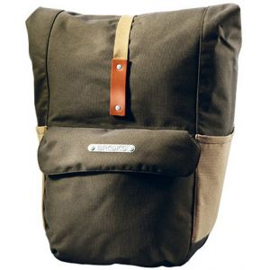 Brooks Suffolk Rear - Sac porte-bagages - beige/olive Sacs pour porte-bagages