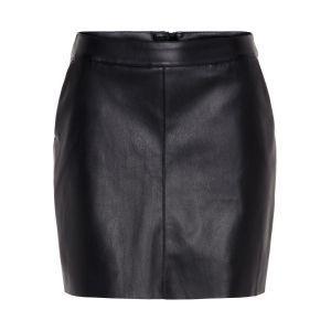 Vero Moda Jupes Jupe courte synthétique YOURSBUTTER Noir Noir - Taille EU S,EU M,EU L,EU XL,EU XS