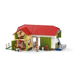 Schleich 42333 - Grande ferme avec animaux et accessoires