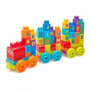 Fisher-Price Mega Bloks Le train de l'alphabet