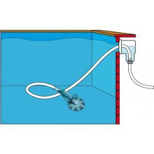 Ubbink 7500401 - Aspirateur de piscine automatique + 10 m de tuyau