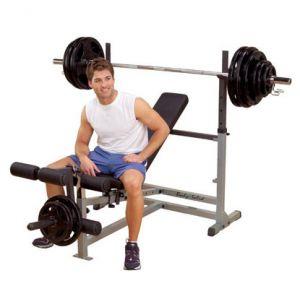 Bodysolid GDIB46L - Banc de musculation PowerCenter Combo