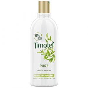 Timotei Après Shampoing Femme Enrichie à l'extrait de Thé Vert Bio Cheveux Normaux 300ml