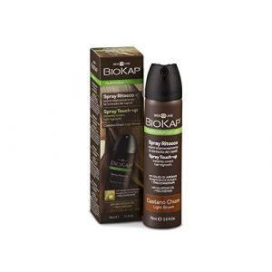 Biokap Spray retouche racines châtain clair