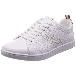 Lacoste Chaussures gravées Blanc - Taille 37