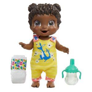 Hasbro Baby Alive Baby Alive - Bébé Sautille - Poupee Cheveux Noirs