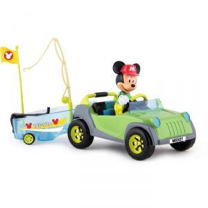 IMC Toys Voiture 4x4 & bateau de pêche de Mickey