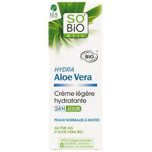 So'Bio Étic Hydra Aloe Vera - Crème légère hydratante 24h jour
