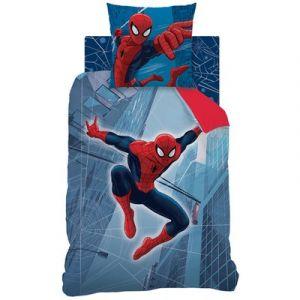 Cti Parure de lit Spider-Man Tower 140 x 200 cm