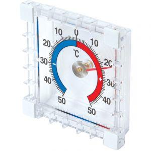 Silverline Thermomètre intérieur/extérieur à coller -50 °C à +50 °C -