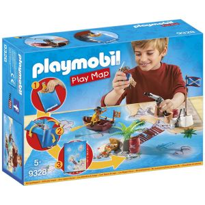 Playmobil 9328 - Pirates avec support de jeu