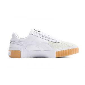 Puma Chaussure Basket Cali Exotic pour Femme, Blanc, Taille 38