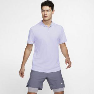 Nike Polo de tennis Court Advantage Homme - Pourpre - Couleur Pourpre - Taille S