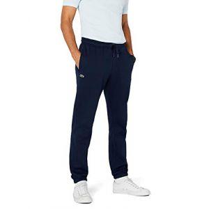 Lacoste Le pantalon molletonné bleu - Taille 48 50 52 54 56 58