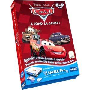 Vtech Jeu V.Smile Pro : Cars A Fond La Caisse