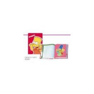 Oberthur Cahier de textes Bart Simpsons