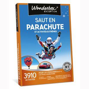 Wonderbox Saut en parachute et activités extrêmes - Coffret cadeau