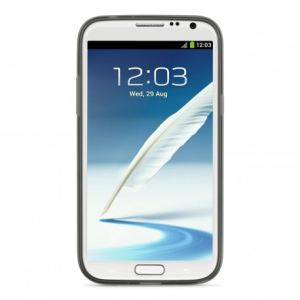 Belkin F8M508VFC00 Grip Sheer - Coque en TPU Galaxy Note 2