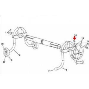 Procopi 1861060 - Frein pour enrouleur de bâche de piscine Oméga (les 2)