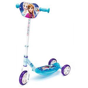 Smoby Trottinette 3 roues Anna et Elsa La Reine des Neiges
