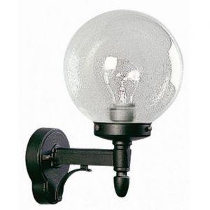 Albert Leuchten 660698 - Applique d'extérieur noire en verre à bulles
