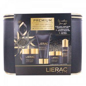 Lierac Coffret Vanity Premium - Crème soyeuse, masque suprême et huile somptueuse