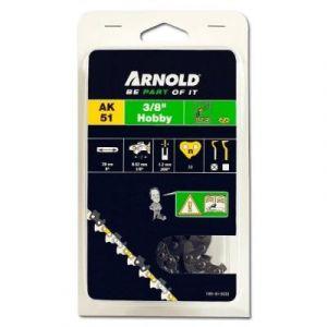 """Arnold Chaîne 3/8"""" LP, 1,3mm, 33 Entr., avec element de securité, demi rond - 1191-X1-5033"""