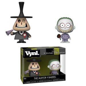 Funko 2 Figurines Vynl Disney: L'Étrange Noël de M. Jack- Le Maire & Gram