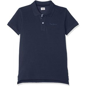 Pepe Jeans THOR JR Polo Garçon Bleu (Ocean 588) 9-10 ans (Taille fabricant: 10 Years)
