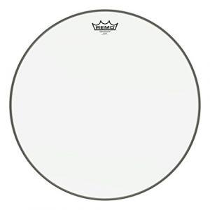 """Remo BA-0318-00 Ambassador Peau Transparente 18"""" Blanc"""