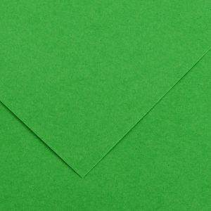 Canson 200040066 - Feuille Iris® Vivaldi® 50x65 120g/m², coloris vert franc 29