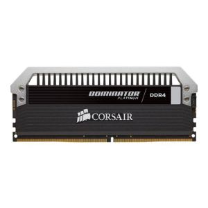 Corsair CMD32GX4M4A2666C15 - Barrette mémoire Dominator Platinum 32 Go (4 x 8 Go) DDR4 2666 MHz DIMM 288 broches