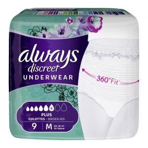 Always Culottes fuites urinaires plus taille M