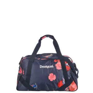 Desigual Sac De Sport Scarlet Bloom Carry Bleu 18wqxw03