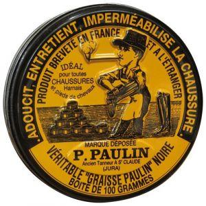 Graisse chaussures Paulin Boîte 100 g Noir GRAISSE PAULIN