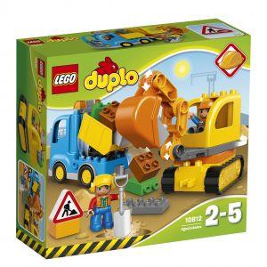 Duplo 10812 - Ville : Le camion et la pelleteuse