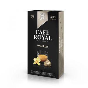 Café Royal Capsules Café Vanilia x 10 pour Nespresso