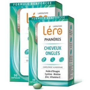 Léro Phanères - Cheveux et ongles 90 capsules