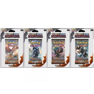 Asmodée Pokemon Booster Soleil & Lune Ombres ardentes